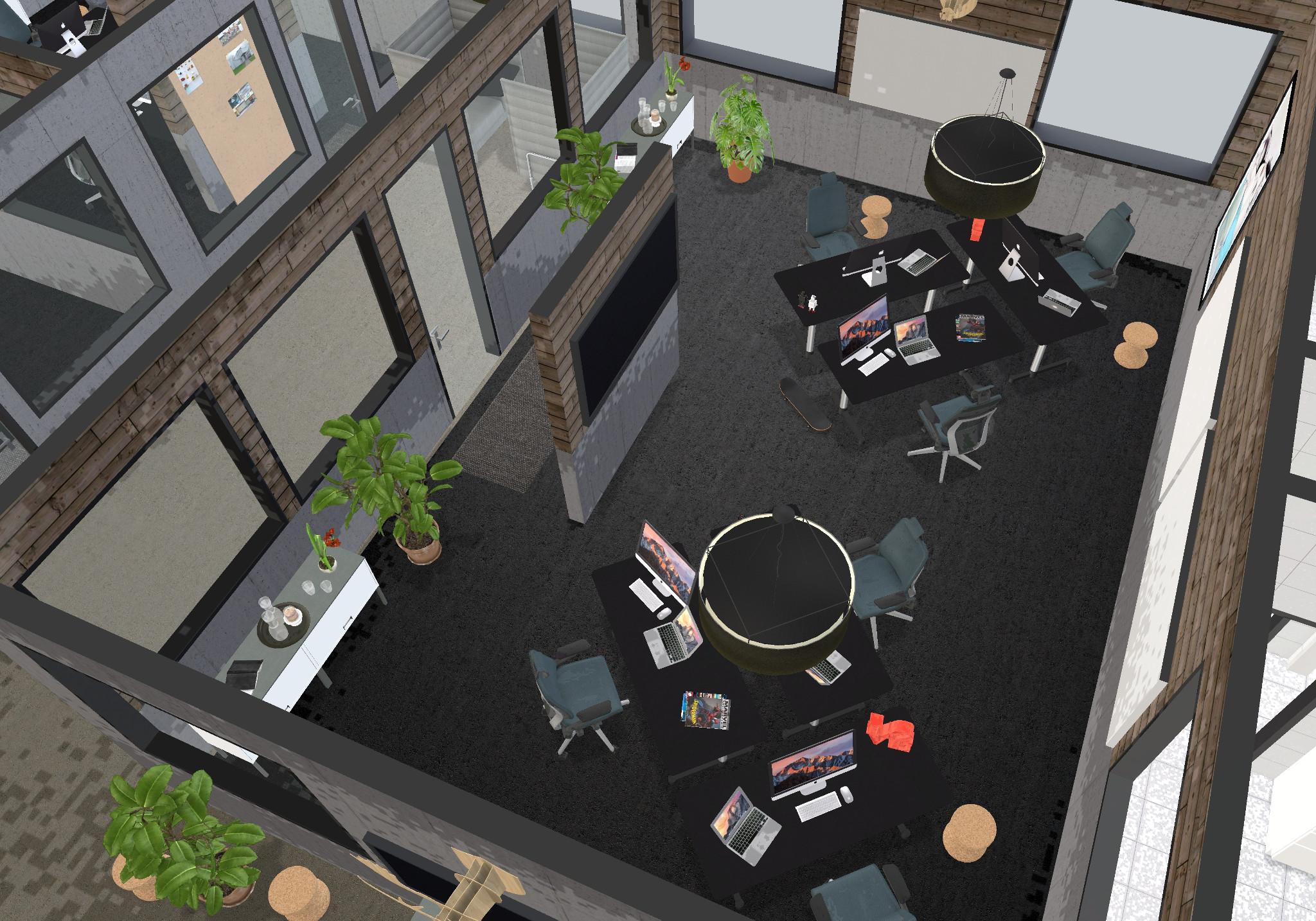 6 people office